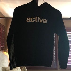 Active Ride Shop Shirts & Tops - Boys Active black  hoodie sweatshirt